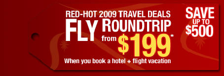 Fly Roundtrip from $199